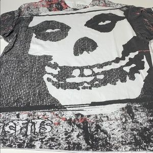 Misfits shirt XL 46 / 48 white & black